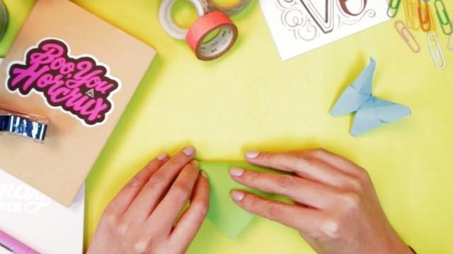 Butterfly Chandelier Mobile | Paper butterfly, Origami butterfly ... | 360x640
