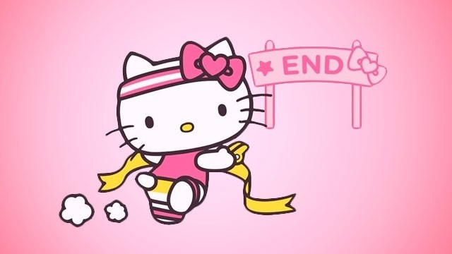 73f1a00372 This Hello Kitty Run is the Only Marathon You ll Need in Your Life