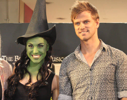 Wicked S Elphaba Gets Greened