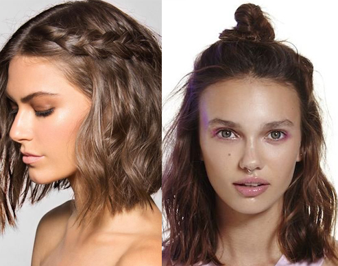 12 Summer Hairstyles for Medium-Length Hair | Candy