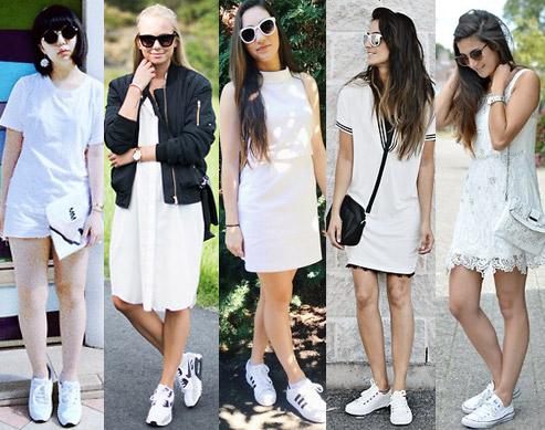 Style Equation: White Dress + White