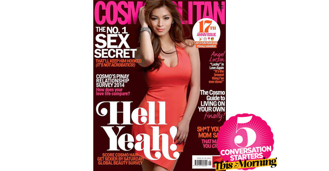 Cosmopolitan cover 2014
