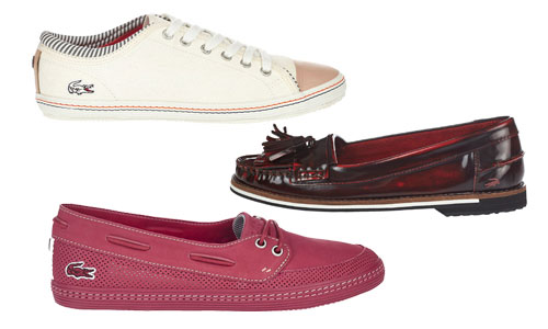 7180c00a07b59 The must-have accessories this season  Lacoste shoes for women!