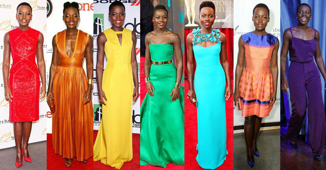 e38ee1861 Lupita Nyong o Has Worn Every Color Of The Rainbow