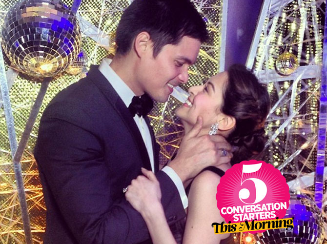 March 17, 2014: Marian Rivera Engaged to Dingdong Dantes ...