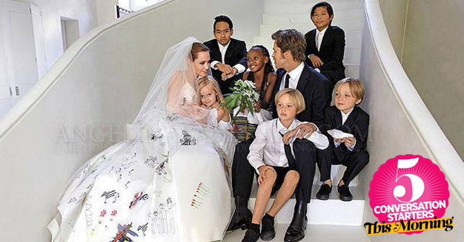 September 5, 2014: Adorable Family Photos From The Jolie