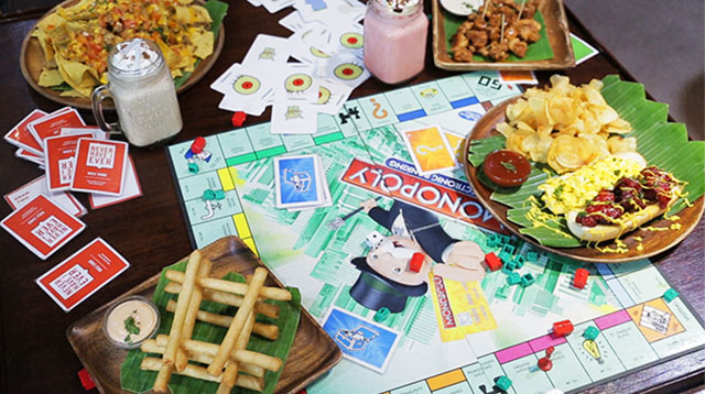 Image result for board games and snacks