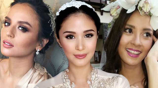 10 Wedding Day Hair Ideas Inspired By Pinay Celebrity Brides