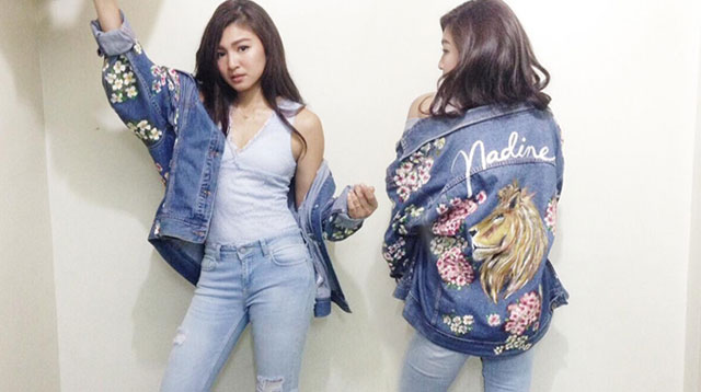 Nadine Lustre Will Make You Want Your Own Customized Denim
