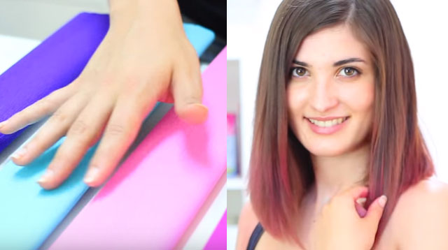 People Are Coloring Their Hair Using Crepe Paper Cosmo Ph