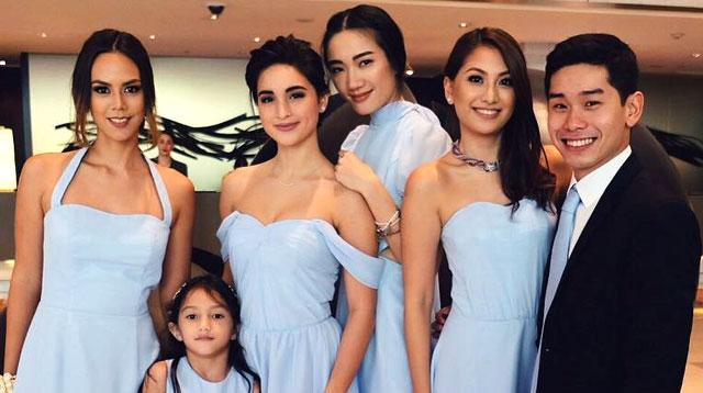Coleen Garcia Was A Blushing Bridesmaid At Her Best Friends Wedding