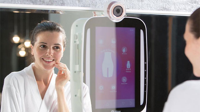 This High Tech Mirror Tells You What To Do With Your Skin