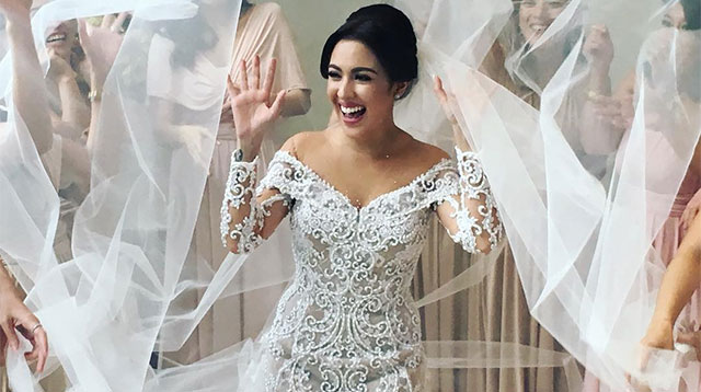 Every Detail Of Karel Marquez S Gorgeous Wedding Look