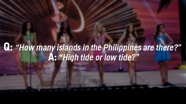 The 10 Most Quotable Beauty Queen Answers Cosmo Ph