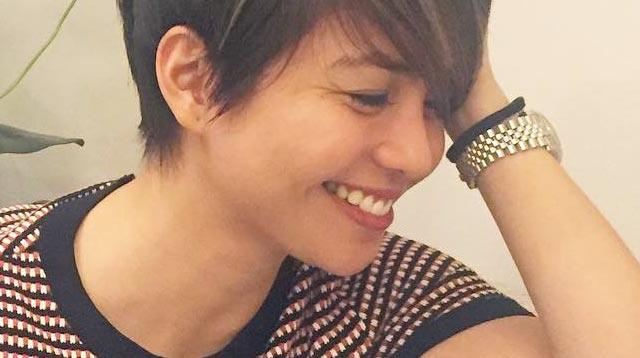 Kaye Abad Shows Off Her New Pixie Cut