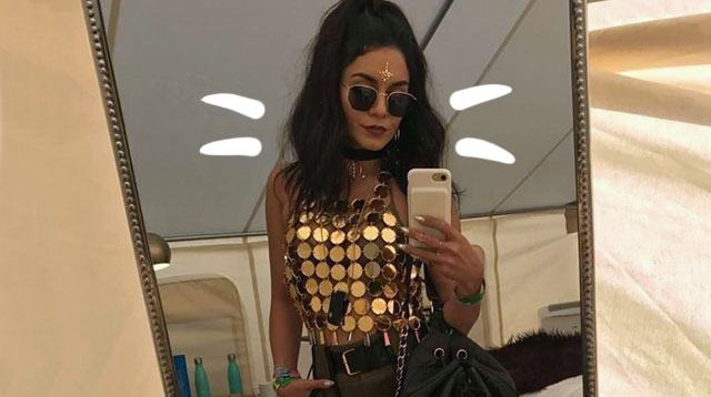 These Outfits Prove Vanessa Hudgens Is Truly The Coachella