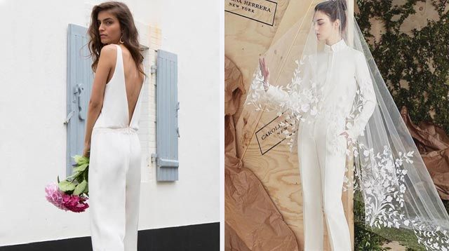 These Wedding Jumpsuits Are For Unconventional Brides Cosmoph
