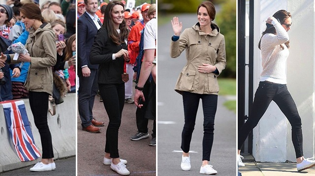 06af2d83570d We Bet You Already Own Kate Middleton s White Sneakers