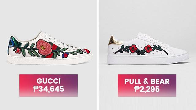 ef75ad2580e Gucci Ace Inspired Affordable Embroidered Sneakers
