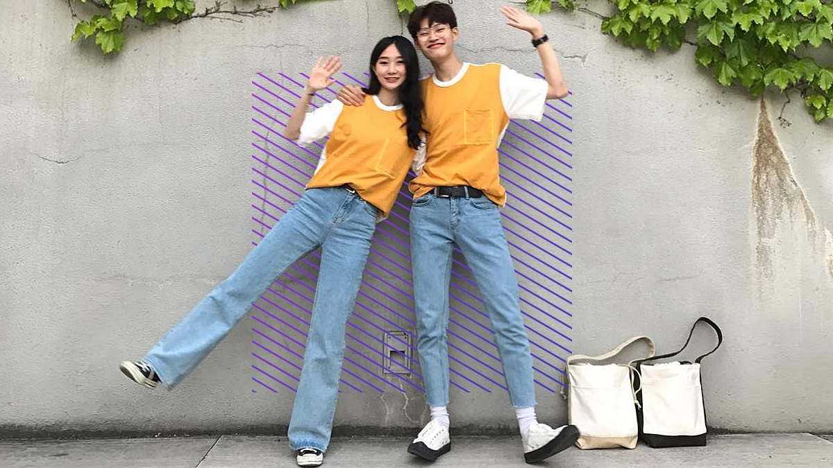 2e159e1e15 This Korean Couple Posts The Cutest Twinning OOTDs