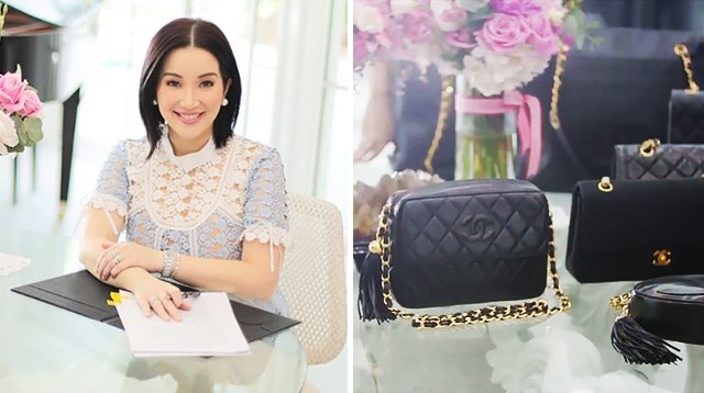 32b155518ff1ad Kris Aquino's Vintage Chanel Bag Collection Is Insane!