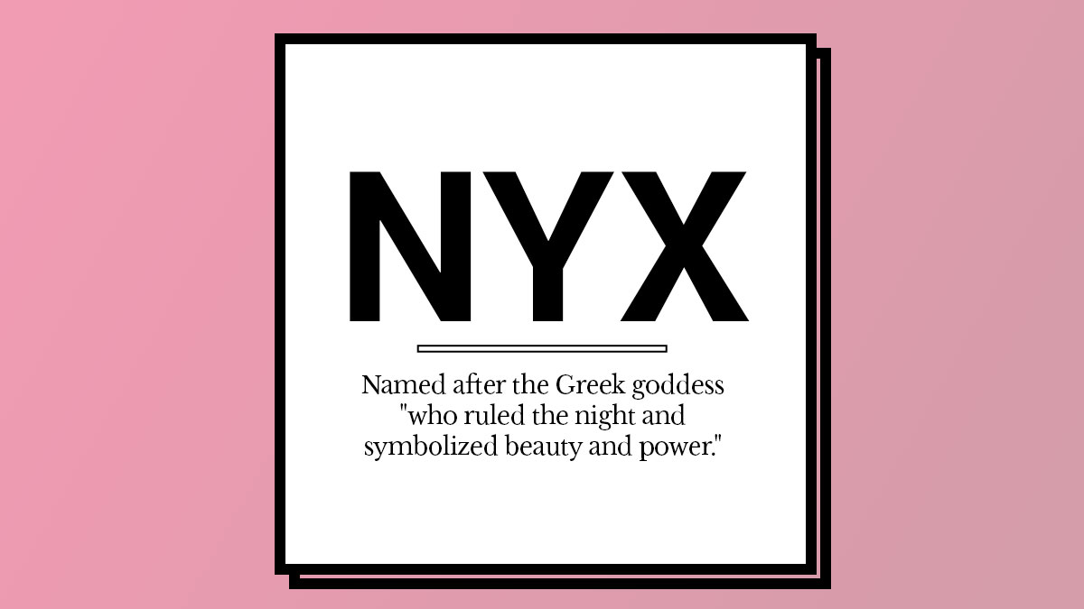 The Story Behind Beauty Brands Names