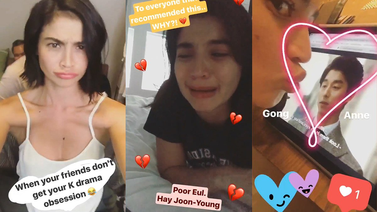K-Drama Fangirling Moments Of Anne Curtis