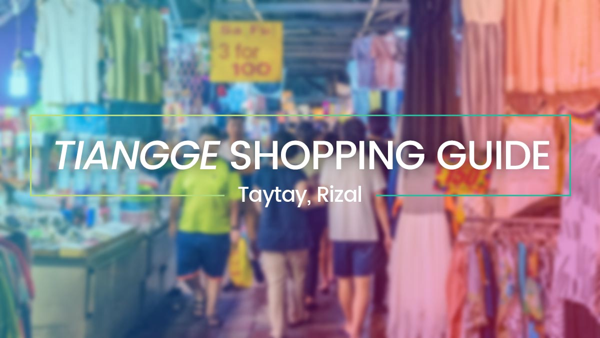 Taytay Rizal Tiangge Guide - Bargain Shopping In Philippines