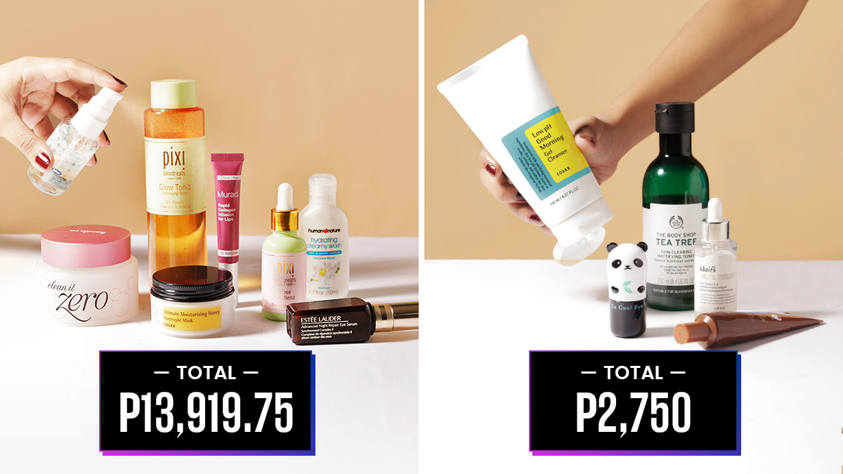 Filipinas Reveal How Much They Spent On Their Pm Skincare