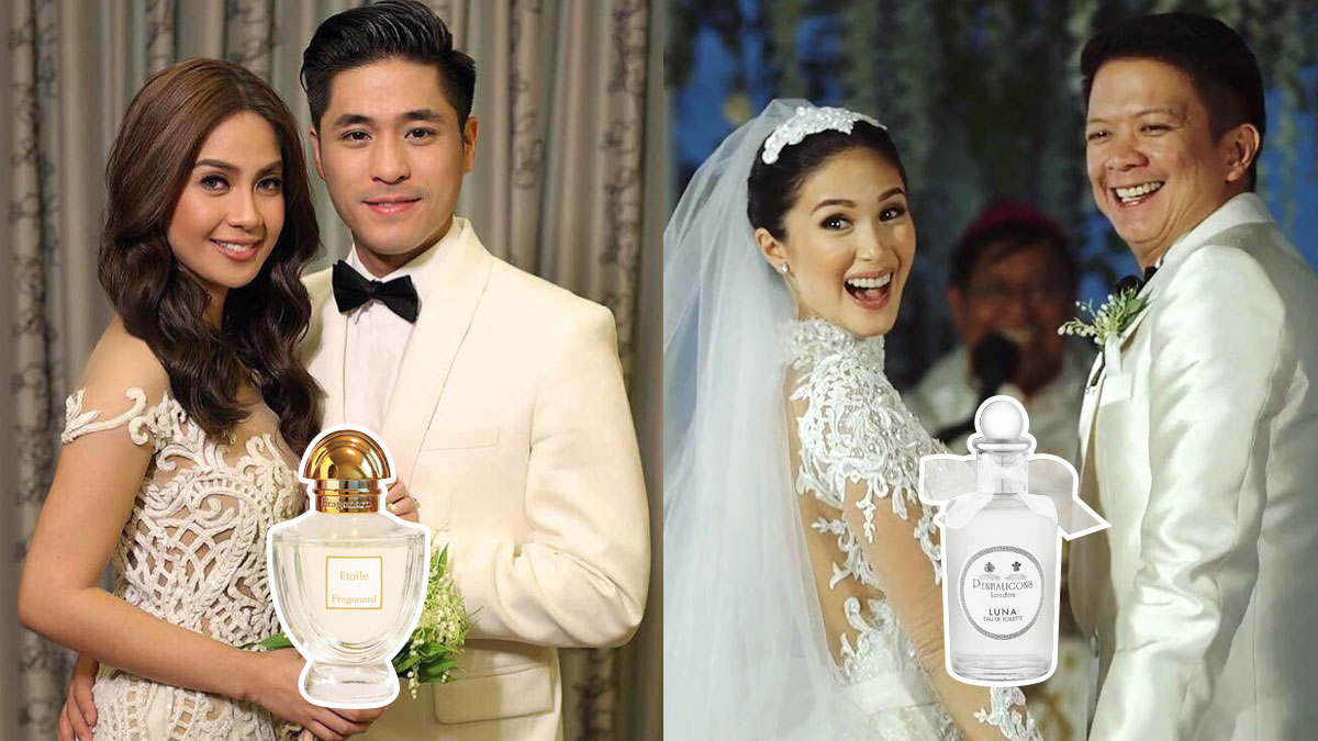 Wedding Day Scents Of Pinay Celebrity Brides