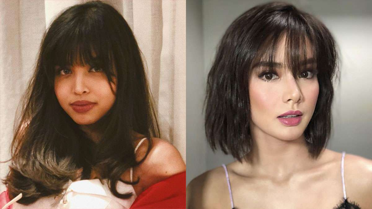 Celebrity Bangs + Hairstyles 2018