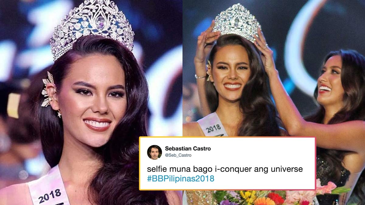 3a6c9930f62e Reactions To Catriona Gray As Miss Universe Philippines 2018