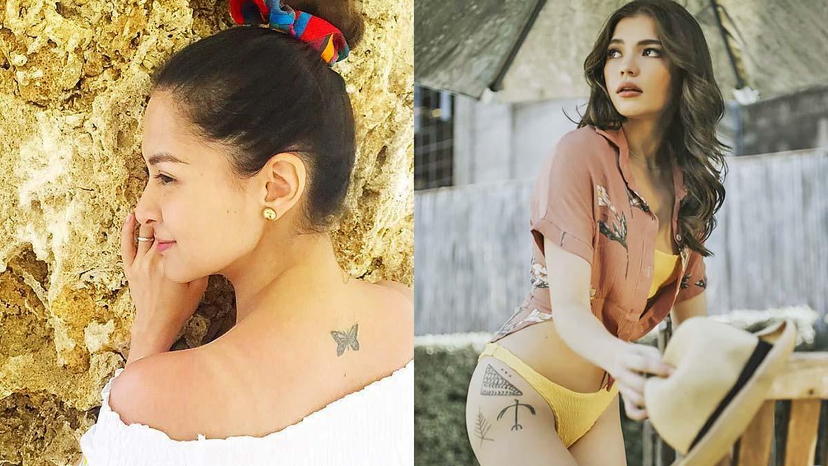 6b2782753c77c Tattoo Inspiration From Pinoy Celebrities