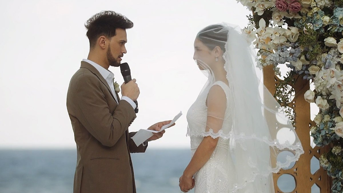 Coleen Garcia And Billy Crawford Wedding Vows