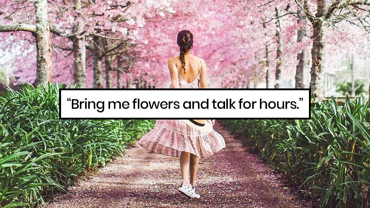 Instagram Captions For Flower Ootd Photos