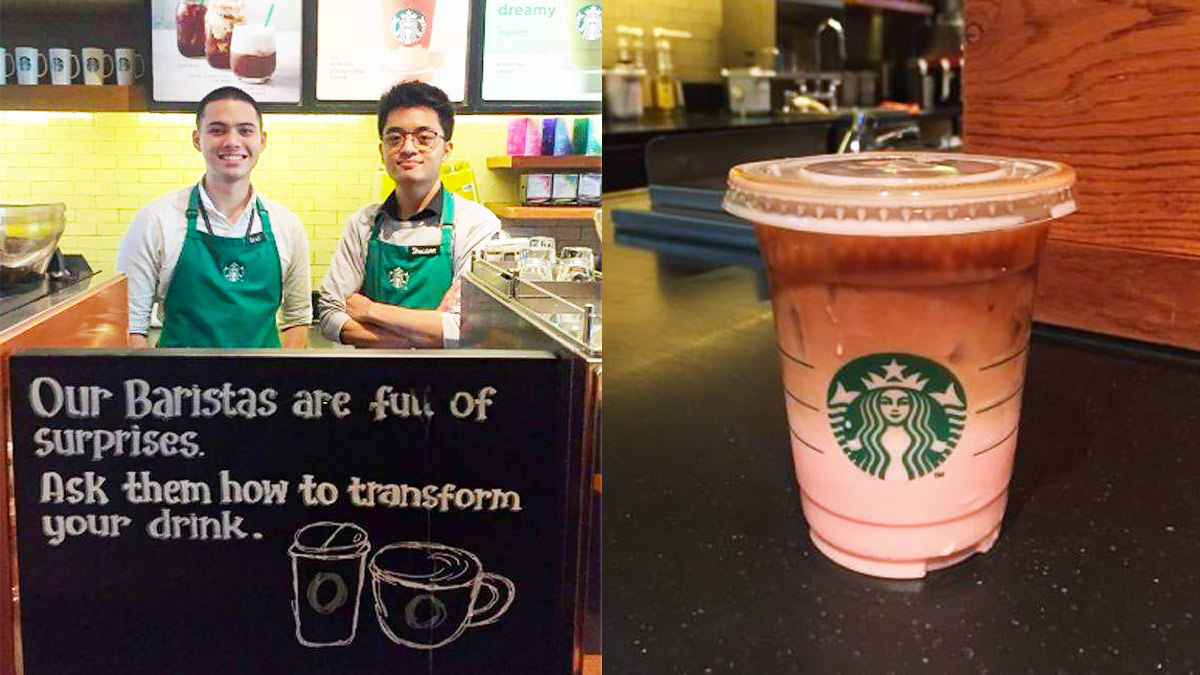 Pinoy Starbucks Baristas Reveal A Customized Secret Drink Menu