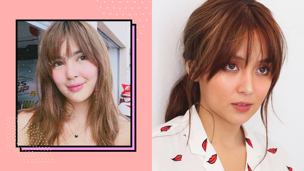 Hairstyles With Bangs Cosmo