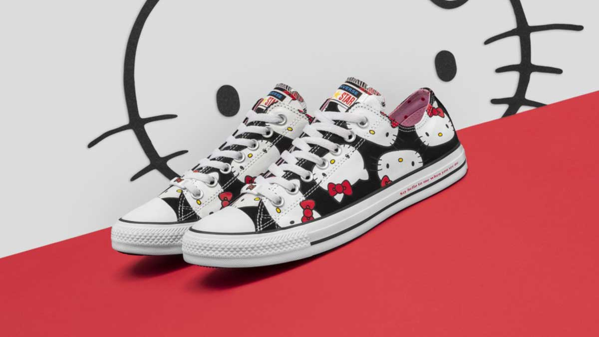 Hello Kitty x Converse is officially happening! The Fall 2018 collection  dropped globally this month with a bunch of adorable designs we can t wait  to cop! 84f9e3719