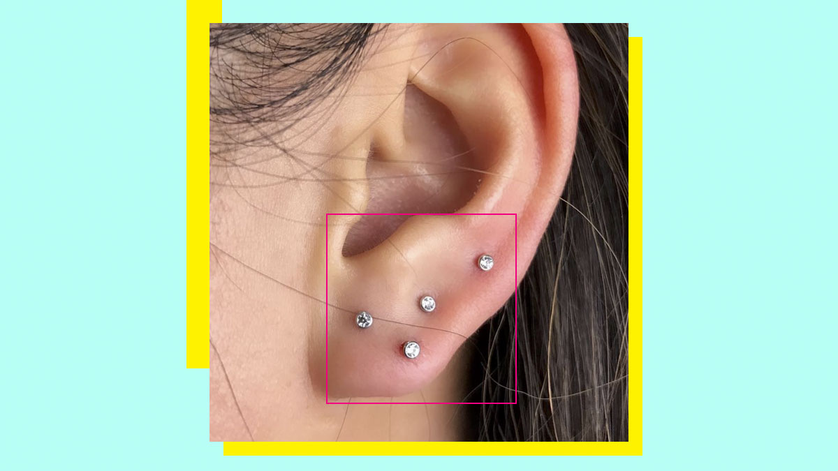 Curated Ear Piercings