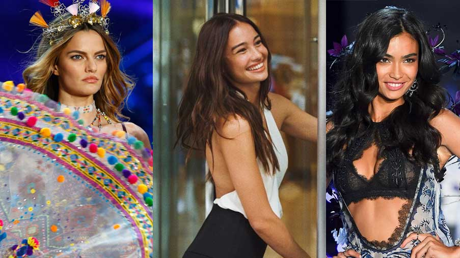 0cdcaee3a5b Kelsey Merritt + Other Models To Walk The Victoria s Secret Show