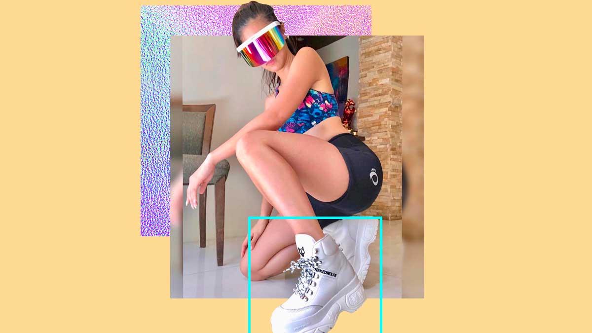 Chunky Designer Sneakers Chiu Kim Naked Wolfe QsrxtdCh