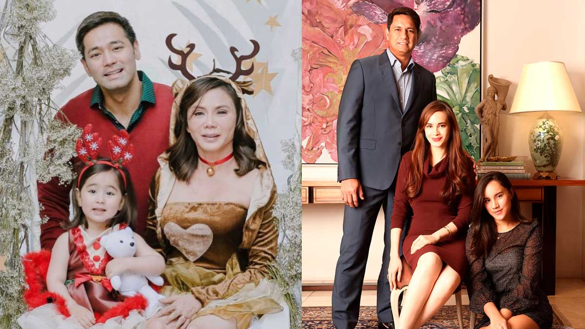 Christmas Family Portraits.Celebrity Family Christmas Portraits From 2017
