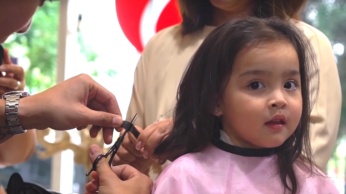 Zia Dantes Gets Her First Haircut Cosmo Ph