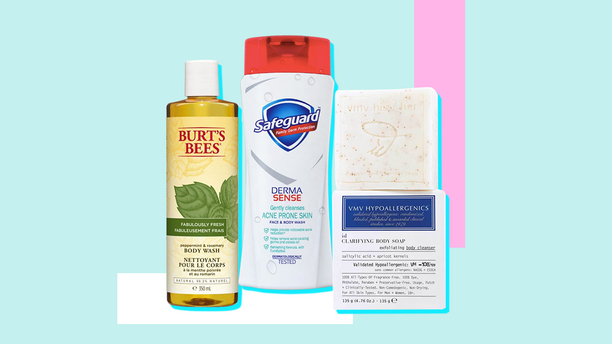 The Best Body Washes Body Scrubs And Body Soaps For Back Acne