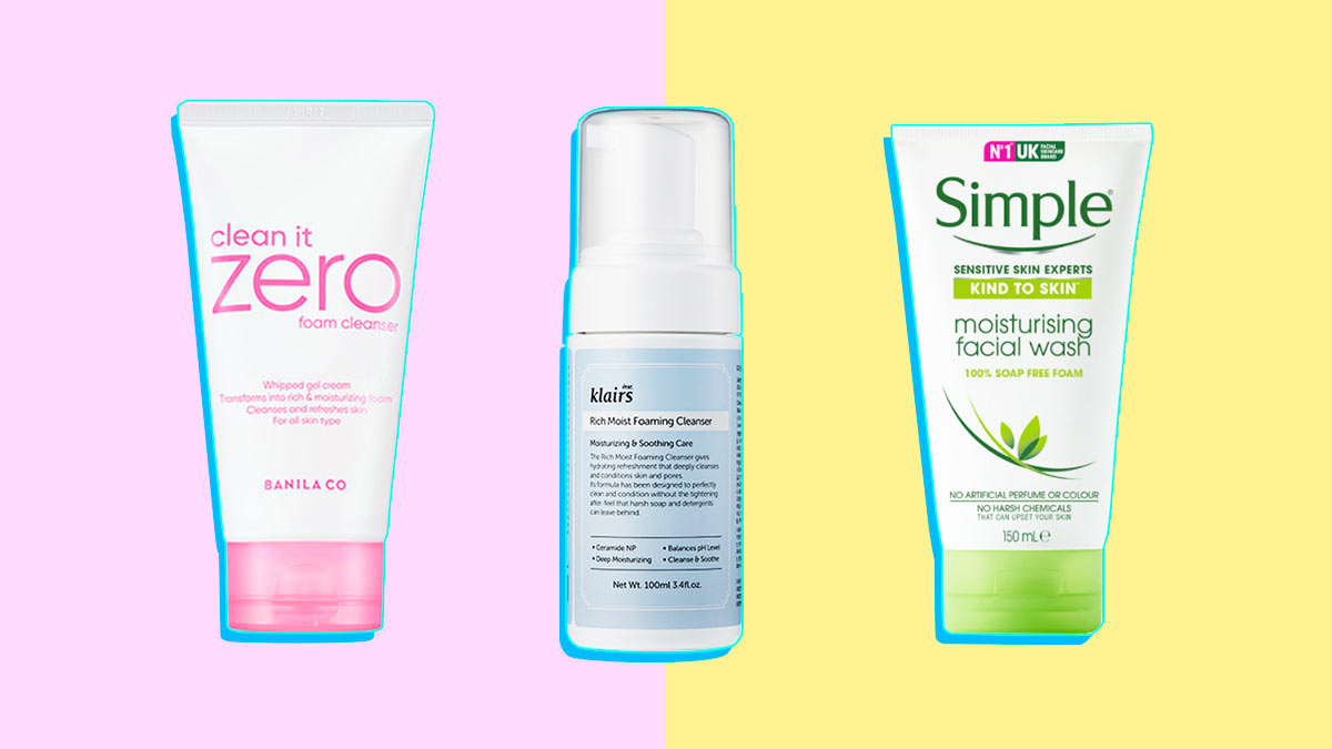 Cheap facial cleansers