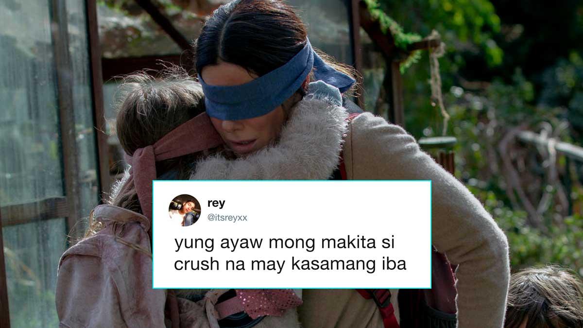 Pinoy 'Bird Box' Twitter Memes