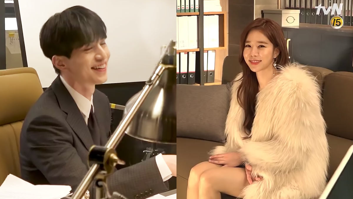 Behind-The-Scenes Of Lee Dong Wook + Yoo In Na's New Drama