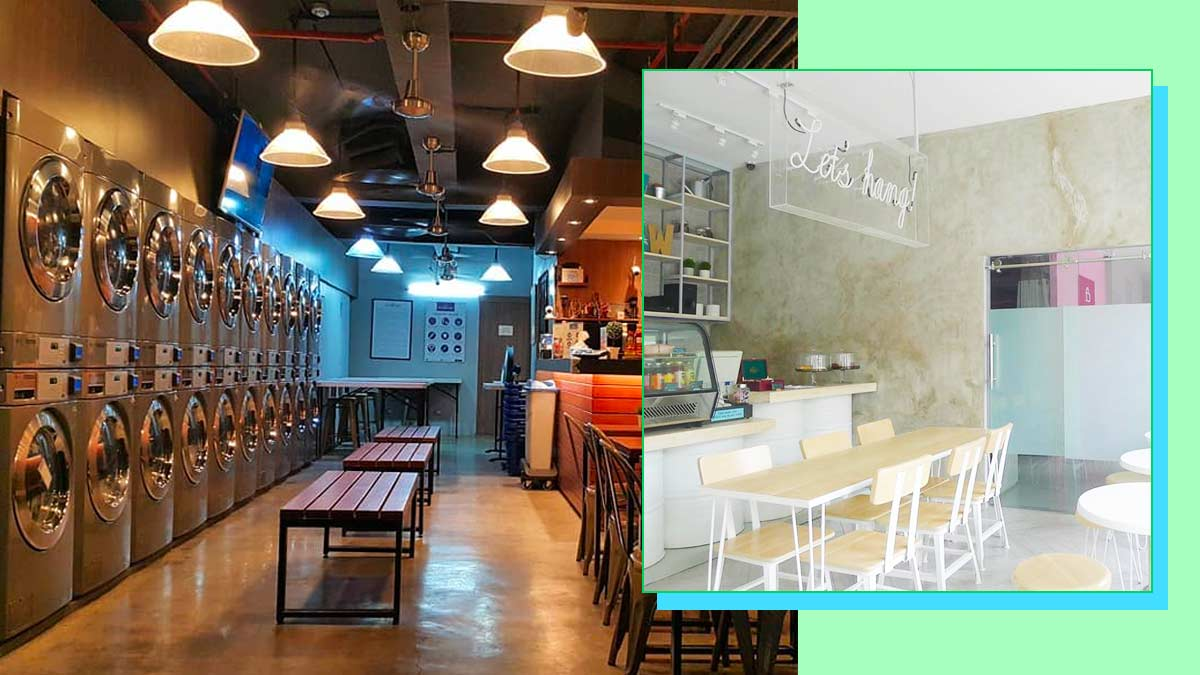 5 Laundromats In Metro Manila That Offer Food And Drinks