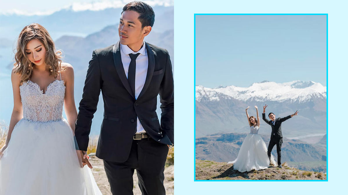 Here Are Kryz Uy And Slater Young S Prenup Photos