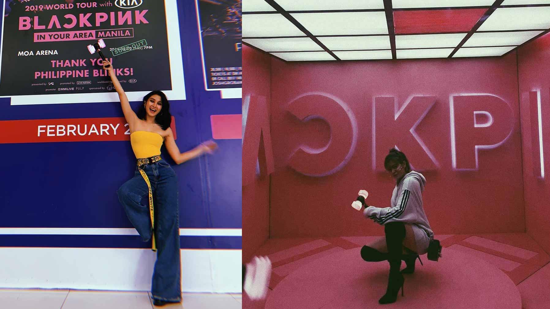 Anne Curtis Liza Soberano Maymay Entrata Watch Blackpink Concert